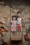 Malaysia - Penang, Street Art, Murals, Graffiti