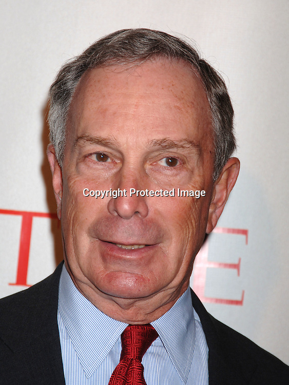 Mayor Michael Bloomberg..at Time Magazine's 100 Most Influential People ..Dinner on May 8, 2006 at Jazz at Lincoln Center at The Time Warner Center. ..Robin Platzer, Twin Images