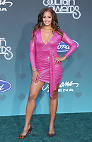 17 November 2019 - Las Vegas, NV - Claudia Jordan. 2019 Soul Train Awards Red Carpet Arrivals at Orleans Arena. Photo Credit: MJT/AdMedia