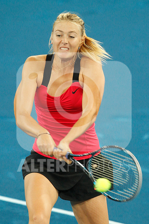 Maria Sharapova during Mutua Madrid Open 2012 match on may 8th 2012...Photo: Cesar Cebolla / ALFAQUI