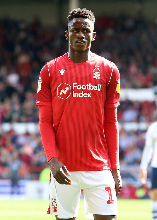 Nottingham Forest's Alfa Semedo in action<br /> <br /> Photographer David Shipman/CameraSport<br /> <br /> The EFL Sky Bet Championship - Nottingham Forest v Preston North End - Saturday 31st August 2019 - The City Ground - Nottingham<br /> <br /> World Copyright © 2019 CameraSport. All rights reserved. 43 Linden Ave. Countesthorpe. Leicester. England. LE8 5PG - Tel: +44 (0) 116 277 4147 - admin@camerasport.com - www.camerasport.com