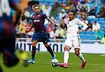 Real Madrid CF's Eder Militao during La Liga match. Aug 24, 2019. (ALTERPHOTOS/Manu R.B.)