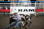 Jimmy DeLeon during the Cody Stampede event in Cody, WY - 7.1.2019 Photo by Christopher Thompson