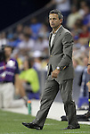 09 June 2011: Chicago interim head coach Frank Klopas. Sporting Kansas City played the Chicago Fire to a 0-0 tie in the inaugural game at LIVESTRONG Sporting Park in Kansas City, Kansas in a 2011 regular season Major League Soccer game.