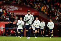18th November 2019; Wanda Metropolitano Stadium, Madrid, Spain; European Championships 2020 Qualifier, Spain versus Romania;  Sergio Ramos (ESP)  Pre-match warm-up - Editorial Use