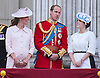 KATE, PRINCE WILLIAM AND PRINCESS EUGENIE<br /> appear on the balcony of Buckingham Palace to watch the Royal Air Force Flypast as part of the Trooping of the Colour, London_15th June 2013<br /> The annual event marks the Queen's Official Birthday.<br /> Photo Credit: &copy;Dias/NEWSPIX INTERNATIONAL<br /> <br /> **ALL FEES PAYABLE TO: &quot;NEWSPIX INTERNATIONAL&quot;**<br /> <br /> PHOTO CREDIT MANDATORY!!: NEWSPIX INTERNATIONAL<br /> <br /> IMMEDIATE CONFIRMATION OF USAGE REQUIRED:<br /> Newspix International, 31 Chinnery Hill, Bishop's Stortford, ENGLAND CM23 3PS<br /> Tel:+441279 324672  ; Fax: +441279656877<br /> Mobile:  0777568 1153<br /> e-mail: info@newspixinternational.co.uk