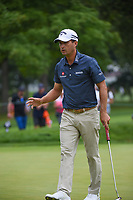 Kevin Kisner (USA) after sinking his putt on 3 during Rd3 of the 2019 BMW Championship, Medinah Golf Club, Chicago, Illinois, USA. 8/17/2019.<br /> Picture Ken Murray / Golffile.ie<br /> <br /> All photo usage must carry mandatory copyright credit (© Golffile   Ken Murray)