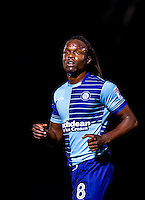 Marcus Bean of Wycombe Wanderers during the Sky Bet League 2 match between Wycombe Wanderers and Accrington Stanley at Adams Park, High Wycombe, England on 16 August 2016. Photo by Andy Rowland.