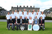 The Waterford Team, winners of the AIG Jimmy Bruen Shield Final between Lisselan &amp; Waterford in the AIG Cups &amp; Shields at Carton House on Saturday 20th September 2014.<br /> Picture:  Thos Caffrey / www.golffile.ie