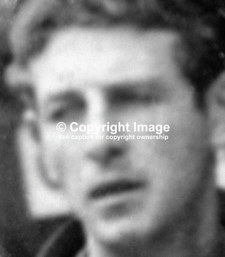 Thomas Morrissey, Farnham Street, Belfast, N Ireland, married, 8 children, who died in UVF bombing of Rose and Crown bar on the Ormeau Road on 2nd May 1974. Four others died in the blast and a sixth died 9 days later. All the victims were Roman Catholics. Two youths, 16 years old at the time of the bombing, were convicted. For more information see Lost Lives victim no 1078. 97405020254<br />