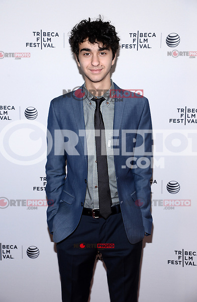 NEW YORK, NY - APRIL 24, 2014: Alex Wolff attend the screening Premiere of  Palo Alto during the 2014 Tribeca Film Festival at SVA Theater on April 24, 2014 in New York City  © HP/Starlitepics /NortePhoto