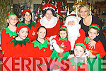 Santa and Mrs Claus and the staff of Crag Caves are preparing their Grotto for all the children and families who will be arriving for their Christmas visit front row l-r: Amy Long, Katie Sugrue, Ciara Geaney, Conor Geaney and Jack Geaney. Back row: Dan Geaney, Roa Swaroz, Sheila Kerley, Santa Claus and Lisa Geaney