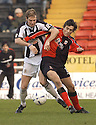 23/01/2005  Copyright Pic : James Stewart.File Name : jspa02_st mirren v airdrie.KIRK BROADFOOT AND ALAN GOW CHALLENGE FOR THE BALL....Payments to :.James Stewart Photo Agency 19 Carronlea Drive, Falkirk. FK2 8DN      Vat Reg No. 607 6932 25.Office     : +44 (0)1324 570906     .Mobile   : +44 (0)7721 416997.Fax         : +44 (0)1324 570906.E-mail  :  jim@jspa.co.uk.If you require further information then contact Jim Stewart on any of the numbers above.........A