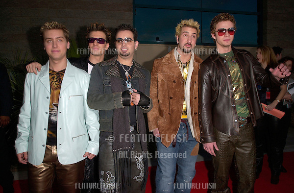 Pop group *NSYNC at the Billboard Music Awards at the MGM Grand Las Vegas..05DEC2000.  © Paul Smith/Featureflash