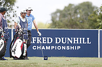 Pedro Figueiredo (POR) on the 5th tee during the 2nd round of the Alfred Dunhill Championship, Leopard Creek Golf Club, Malelane, South Africa. 14/12/2018<br /> Picture: Golffile | Tyrone Winfield<br /> <br /> <br /> All photo usage must carry mandatory copyright credit (&copy; Golffile | Tyrone Winfield)