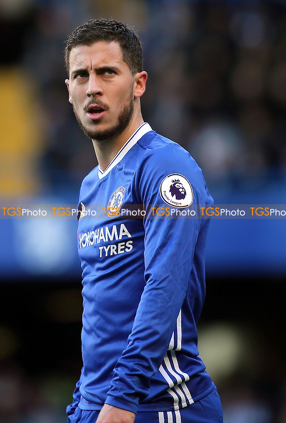 Eden Hazard of Chelsea during Chelsea vs West Bromwich Albion, Premier League Football at Stamford Bridge on 11th December 2016