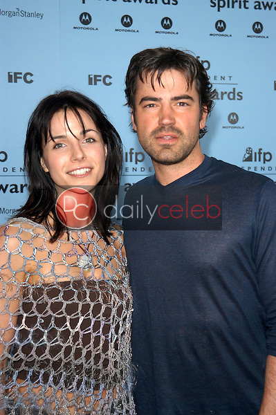 Ron Livingston and wife Lisa