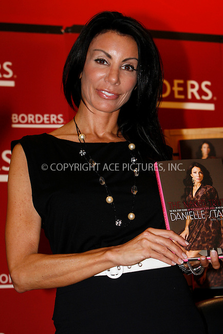 WWW.ACEPIXS.COM . . . . .  ....May 25 2010, New York City....'Real Housewives of New Jersey' cast member Danielle Staub promotes her book 'The Naked Truth' at Borders on May 25 2010 in New York City....Please byline: NANCY RIVERA- ACEPIXS.COM.... *** ***..Ace Pictures, Inc:  ..Tel: 646 769 0430..e-mail: info@acepixs.com..web: http://www.acepixs.com