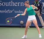 August  17, 2018:  Simona Halep (ROU) defeated Ashleigh Barty (AUS) 7-5, 6-4, at the Western & Southern Open being played at Lindner Family Tennis Center in Mason, Ohio. ©Leslie Billman/Tennisclix/CSM