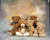 Interlitho, Alberto, CUTE ANIMALS, teddies, photos, 6 teddies(KL15887,#AC#)