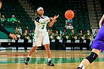 DENTON TEXAS, November 3: University of North Texas Mean Green Women's Basketball v University of Mary Harden Baylor at the Super Pit in Denton on November 3 2018 (Photo Rick Yeatts Photography/Colin Mitchell)