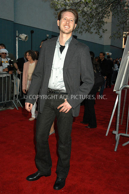 WWW.ACEPIXS.COM . . . . . ....NEW YORK, APRIL 18, 2005....Gabriel Mann at the premiere of 'A Lot Like Love' at the Clearview Chelsea West. ....Please byline: KRISTIN CALLAHAN - ACE PICTURES.. . . . . . ..Ace Pictures, Inc:  ..Craig Ashby (212) 243-8787..e-mail: picturedesk@acepixs.com..web: http://www.acepixs.com
