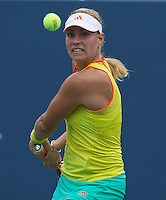 Angelique Kerber..Tennis - US Open - Grand Slam -  New York 2012 -  Flushing Meadows - New York - USA - Monday 3rd September  2012. .© AMN Images, 30, Cleveland Street, London, W1T 4JD.Tel - +44 20 7907 6387.mfrey@advantagemedianet.com.www.amnimages.photoshelter.com.www.advantagemedianet.com.www.tennishead.net