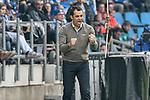 13.04.2018, Vonovia Ruhrstadion, Bochum, GER, 2.FBL, VfL Bochum vs 1. FC Kaiserslautern,, im Bild Robin Dutt (VfL Bochum)  Gestik / Geste / gestikuliert / <br /> <br /> Foto &copy; nordphoto/Mauelshagen