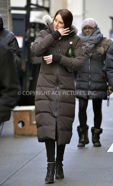 WWW.ACEPIXS.COM....March 4 2013, New York City....Actress Shailene Woodley was on the set of 'The Amazing Spiderman 2' on March 4 2013 in New York City....By Line: Curtis Means/ACE Pictures......ACE Pictures, Inc...tel: 646 769 0430..Email: info@acepixs.com..www.acepixs.com