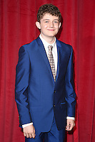 Ellis Hollins<br /> arrives for the British Soap Awards 2016 at Hackney Empire, London.<br /> <br /> <br /> &copy;Ash Knotek  D3124  28/05/2016