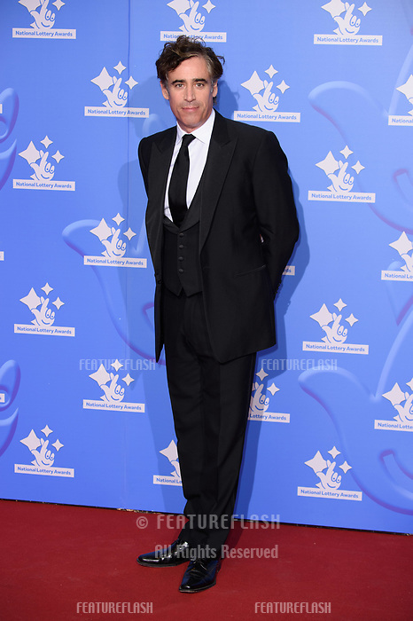 LONDON, UK. September 21, 2018: Stephen Mangan at the National Lottery Awards 2018 at the BBC Television Centre, London.<br /> Picture: Steve Vas/Featureflash
