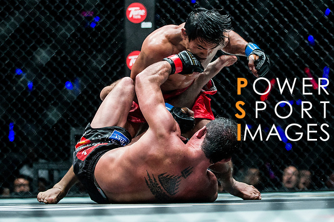 Lightweight World Championship Eduard Folayang of Philippines vs Adrian Pang of Australia during the One Championship on 13 August 2016 at The Venetian Macao Cotai Arena in Macau, China. Photo by Marcio Machado / Power Sport Images