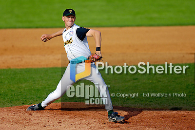 18 May 2006: Chris Marsh,  a University of Vermont Senior from Bristol, CT, on the mound against the University of Maine Black Bears, at Historic Centennial Field, in Burlington, Vermont...Mandatory Photo Credit: Ed Wolfstein Photo.