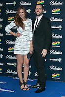 Elena Ballesteros and Dani Mateo attend the 40 Principales Awards at Barclaycard Center in Madrid, Spain. December 12, 2014. (ALTERPHOTOS/Carlos Dafonte) /NortePhoto