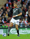 Oguchi Onyewu of USA during the Friendly International match at Wembley Stadium, London. Picture date 28th May 2008. Picture credit should read: Simon Bellis/Sportimage