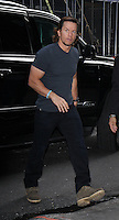 NEW YORK, NY-September 21: Mark Wahlberg at Good Morning America  to talk new movie Deepwater Horizon in New York. September 21, 2016. Credit:RW/MediaPunch