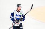 Stockholm 2014-10-02 Ishockey Hockeyallsvenskan AIK - BIK Karlskoga :  <br /> BIK Karlskogas Christian Berglund deppar<br /> (Foto: Kenta J&ouml;nsson) Nyckelord:  AIK Gnaget Hockeyallsvenskan Allsvenskan Hovet Johanneshovs Isstadion Bofors BIK Karlskoga depp besviken besvikelse sorg ledsen deppig nedst&auml;md uppgiven sad disappointment disappointed dejected