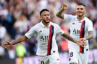 celebration des joueurs du PSG apres le goal de NEYMAR JR (PSG) with Mauro Icardi <br /> 14/09/2019<br /> Paris Saint Germain PSG - Strasbourg <br /> Calcio Ligue 1 2019/2020 <br /> Foto JB Autissier Panoramic/insidefoto <br /> ITALY ONLY
