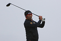Thongchai Jaidee (THA) on the 16th tee during round 4 of the Alfred Dunhill Links Championship at Old Course St. Andrew's, Fife, Scotland. 07/10/2018.<br /> Picture Thos Caffrey / Golffile.ie<br /> <br /> All photo usage must carry mandatory copyright credit (&copy; Golffile | Thos Caffrey)