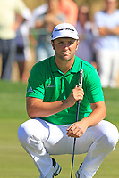 Jon Rahm (ESP) on the 6th green during Saturday's Round 3 of the Waste Management Phoenix Open 2018 held on the TPC Scottsdale Stadium Course, Scottsdale, Arizona, USA. 3rd February 2018.<br /> Picture: Eoin Clarke | Golffile<br /> <br /> <br /> All photos usage must carry mandatory copyright credit (&copy; Golffile | Eoin Clarke)