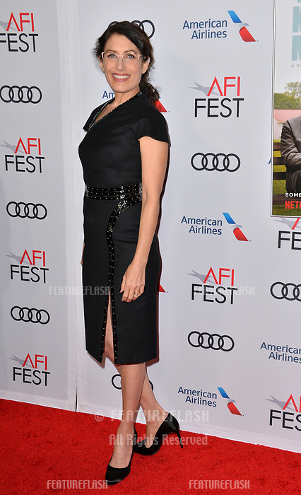 LOS ANGELES, CA. November 10, 2018: Lisa Edelstein at the AFI Fest 2018 world premiere of &quot;The Kominsky Method&quot; at the TCL Chinese Theatre.<br /> Picture: Paul Smith/Featureflash