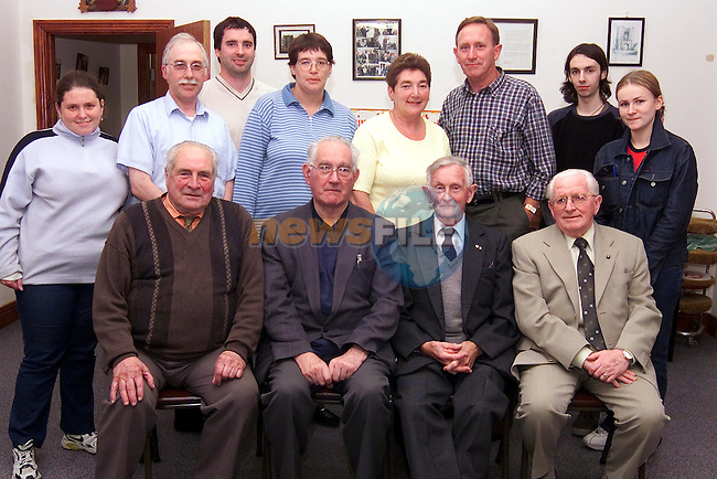 Past and present members of the Order of Malta Ambulance Core who are organising a social reunion on Thursday the 13th of September in the Westcourt Hotel. Back Row L/R, Erin O'Reilly, Martin O'Connor, Martin Carroll, Elizabeth Doyle, Margaret Doherty, Bruce Moran, Derek Flood and Elaine Moloney. Front Row L/R, Paddy Balfe, Gene McKenna, Seamus Yelland and Dermot Kierans..Picture: Paul Mohan/Newsfile