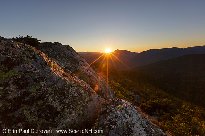 Presidential Range-Dry River Wilderness -  Sunset from Mount Crawford in Hadleys Purchase, New Hampshire USA during the summer months.