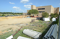 Classroom construction August 22, 2014