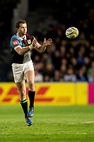 Harlequins' Nick Evans<br /> <br /> Photographer Bob Bradford/CameraSport<br /> <br /> Aviva Premiership Round 20 - Harlequins v Exeter Chiefs - Friday 14th April 2016 - The Stoop - London<br /> <br /> World Copyright &copy; 2017 CameraSport. All rights reserved. 43 Linden Ave. Countesthorpe. Leicester. England. LE8 5PG - Tel: +44 (0) 116 277 4147 - admin@camerasport.com - www.camerasport.com