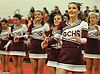 Garden City performs during the varsity segment of the Freeport Devil Winter Cheerleading Competition at Freeport High School on Sat, Dec. 16, 2017.