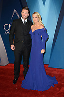 NASHVILLE, TN - NOVEMBER 8:  Mike Fisher and Carrie Underwood arrive at the 51st Annual CMA Awards at the Bridgestone Arena on November 8, 2017 in Nashville, Tennessee. (Photo by Tonya Wise/PictureGroup)