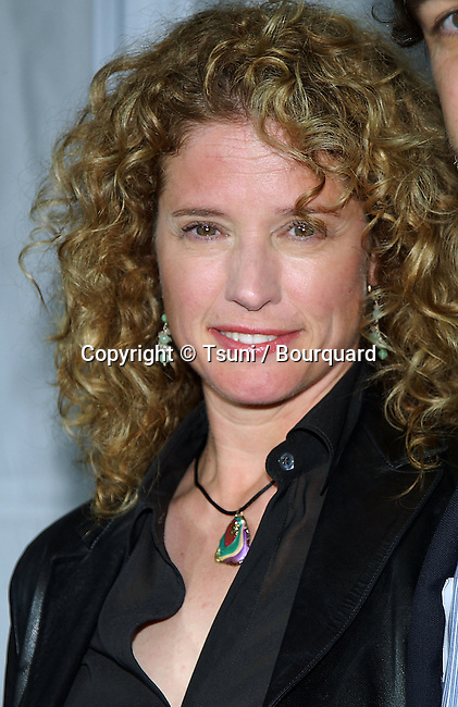 Nancy Travis arriving at the Monster in Law Premiere at the National Theatre in Los Angeles. April 29, 2005.