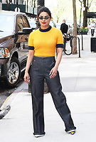 NEW YORK, NY - MAY 2: Priyanka Chopra at The Chew promoting the new season of Quantico on May 2, 2018 in New York City. Credit: RW/MediaPunch