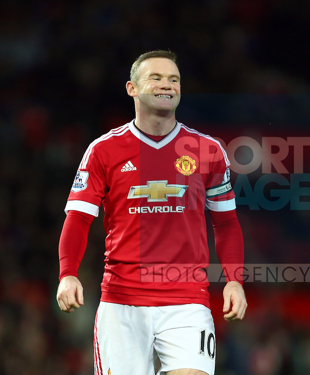 Wayne Rooney of Manchester United dejected - Manchester United vs Norwich City - Barclays Premier League - Old Trafford - Manchester - 19/12/2015 Pic Philip Oldham/SportImage